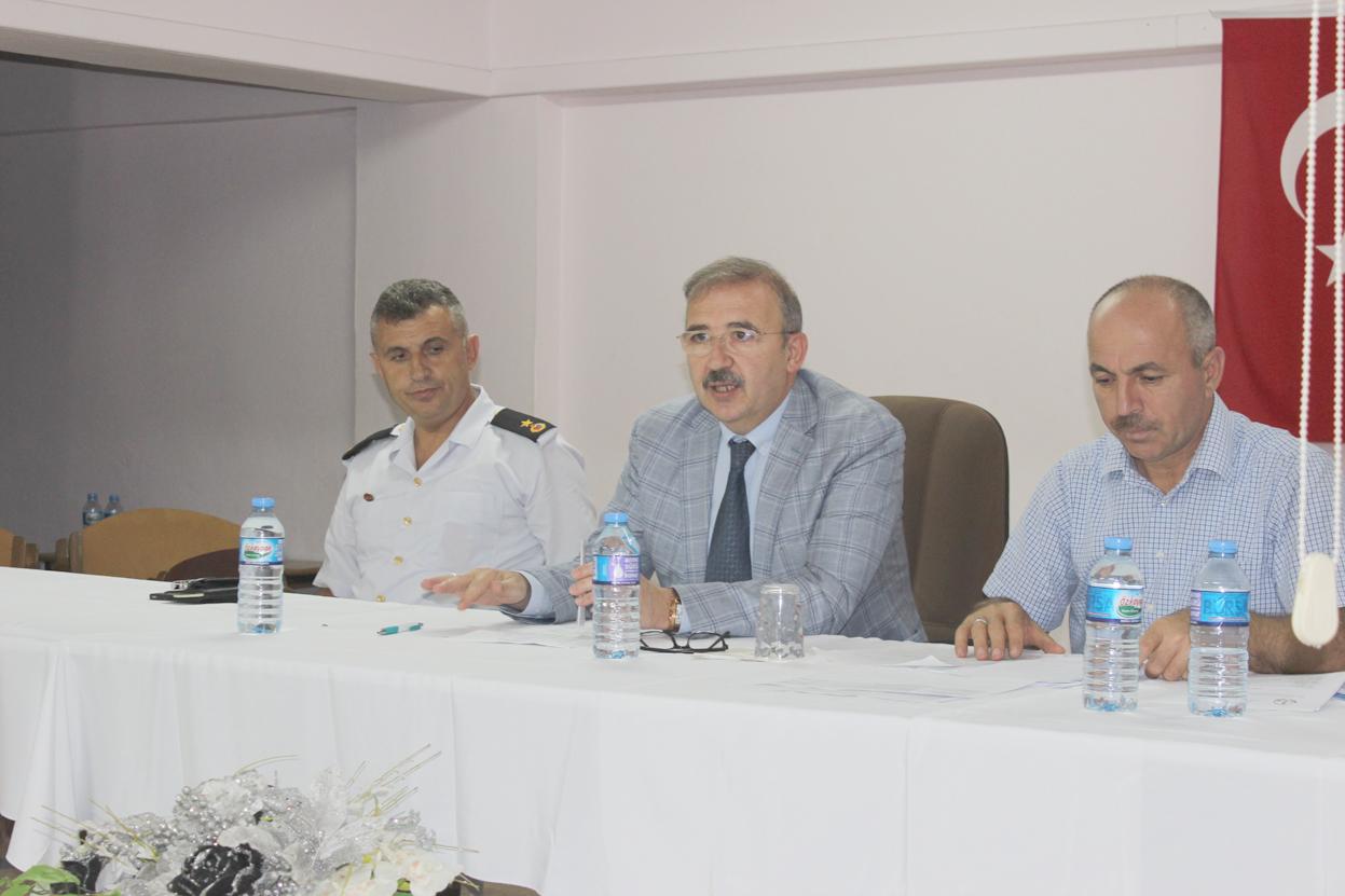Okul müdürleri toplandı