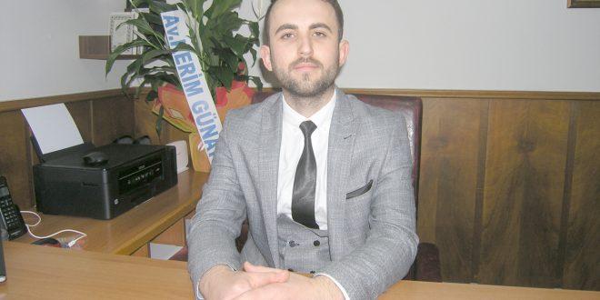 Günay, avukatlık bürosunu devretti
