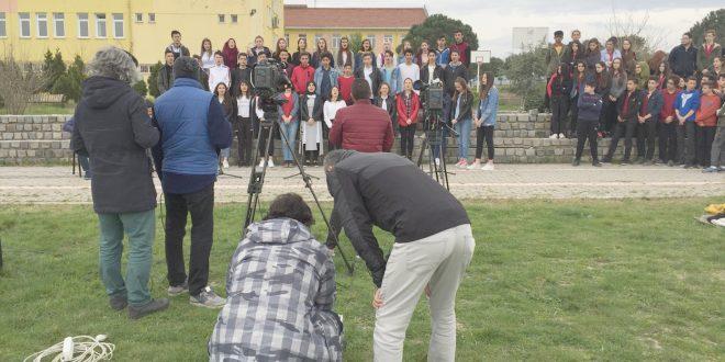 GÖNEN MUSTAFA UŞDU ANADOLU LİSESİ ÖĞRENCİLERİ YİNE TRT DE