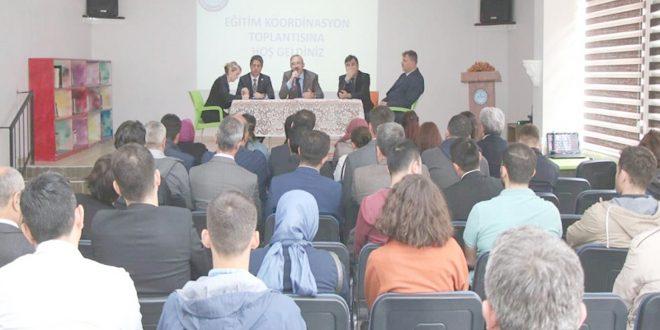 Eğitim koordinasyon toplantısı yapıldı